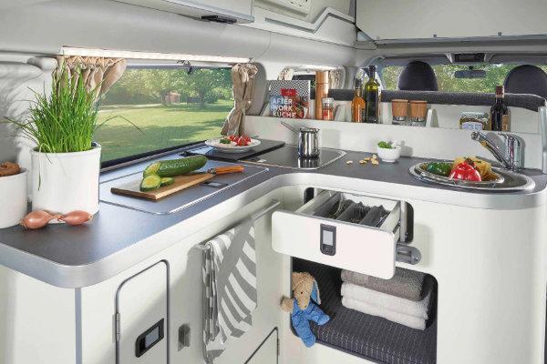 Küchenbereich Ford Transit Custom Nugget