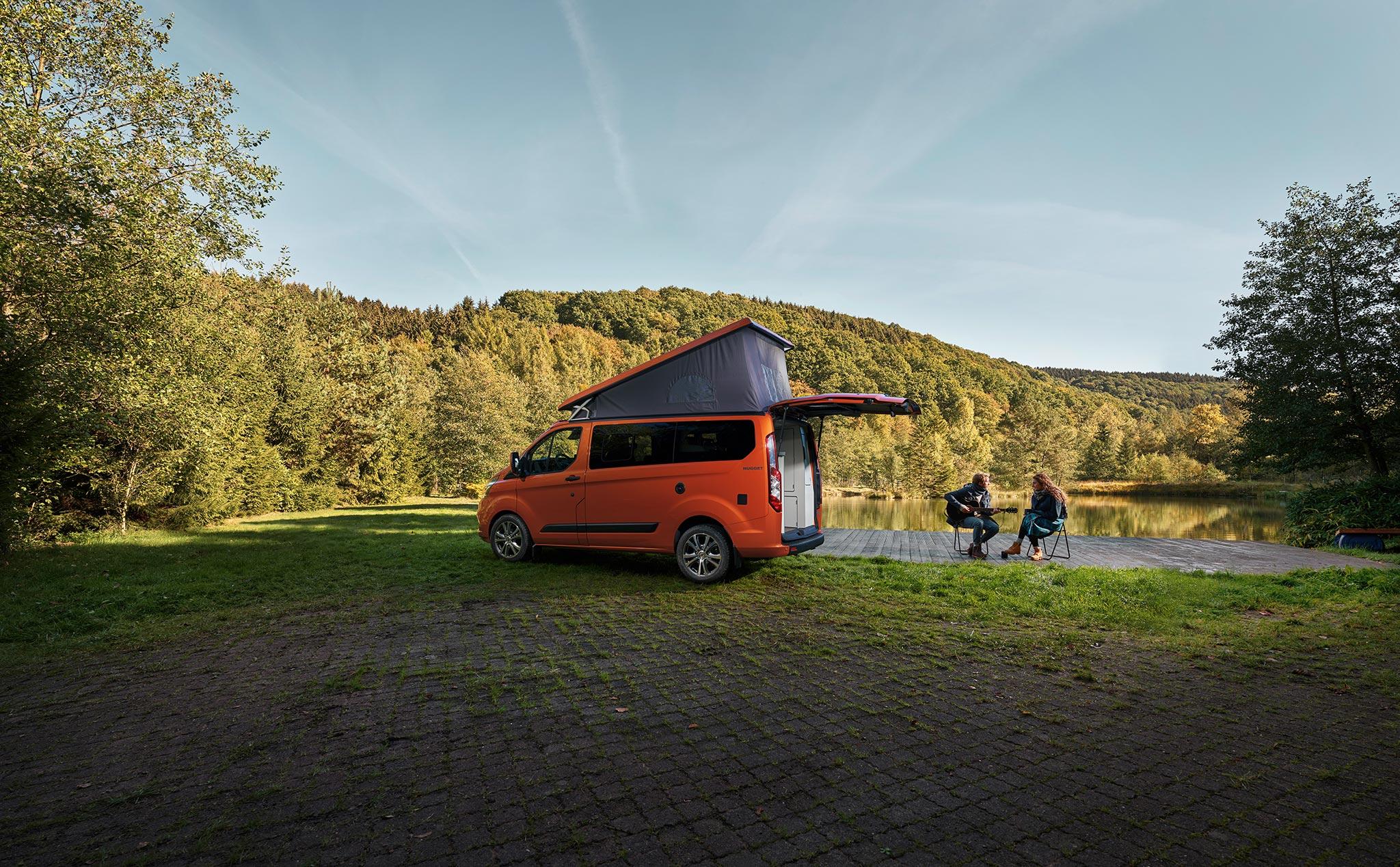 Ford Transit Custom Nugget erweiterbares Dach