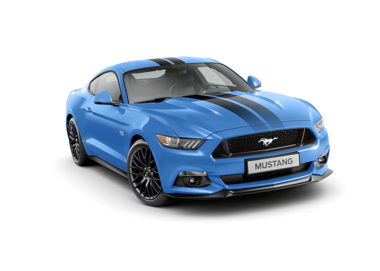 Mustang Grabber Blue