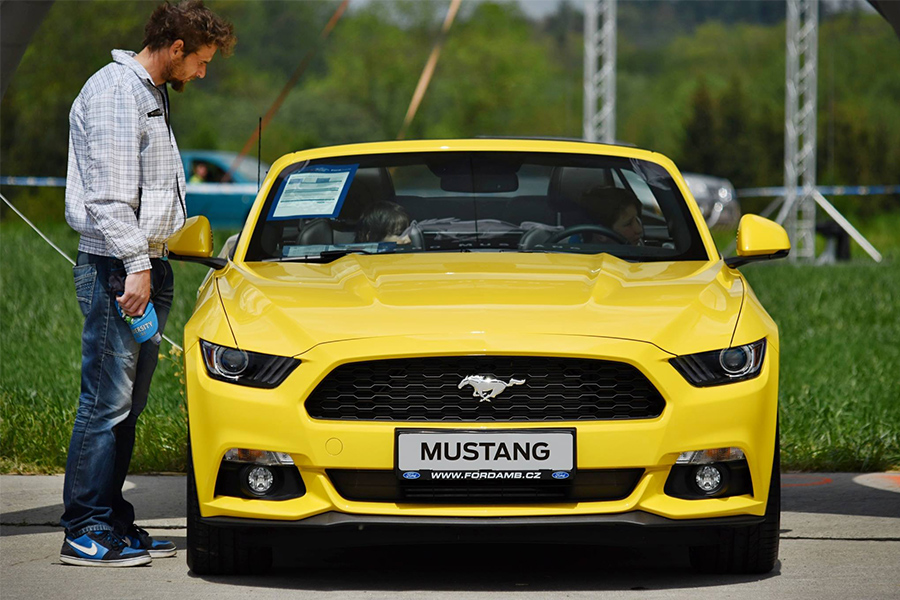 Ford AMB Praha - Mustang sprinty