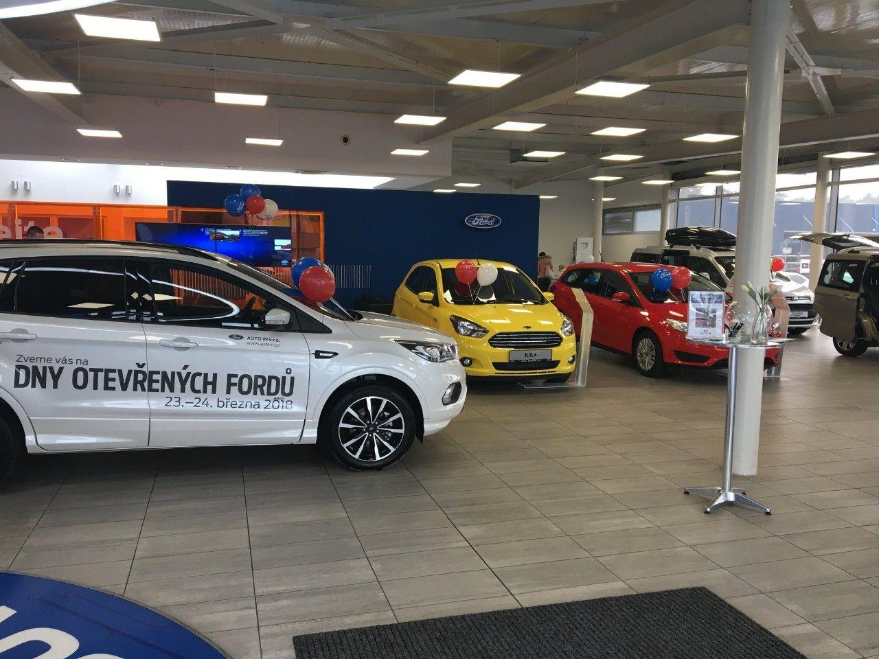 Dny otevřených Fordů - AUTO IN Pardubice