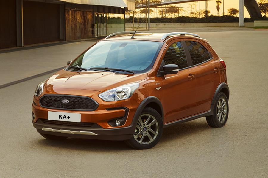Nový Ford KA+ Active - Exteriér