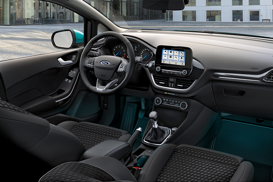 Zcela nový Ford Fiesta Titanium