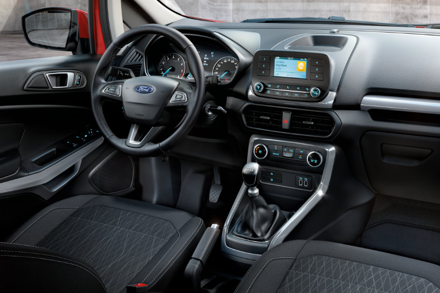 Ford EcoSport TOP Edition Trend - interiér