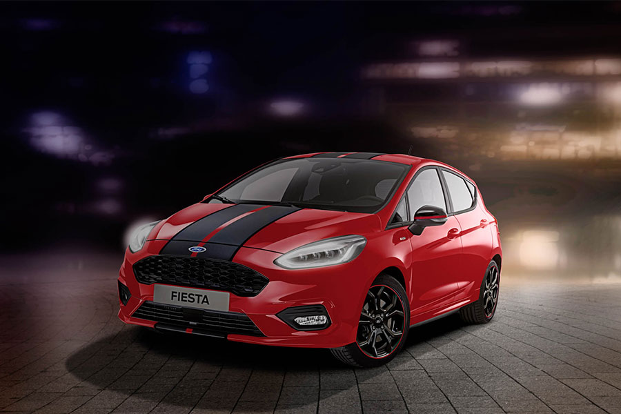 Fiesta ST-Line Red&Black Edition