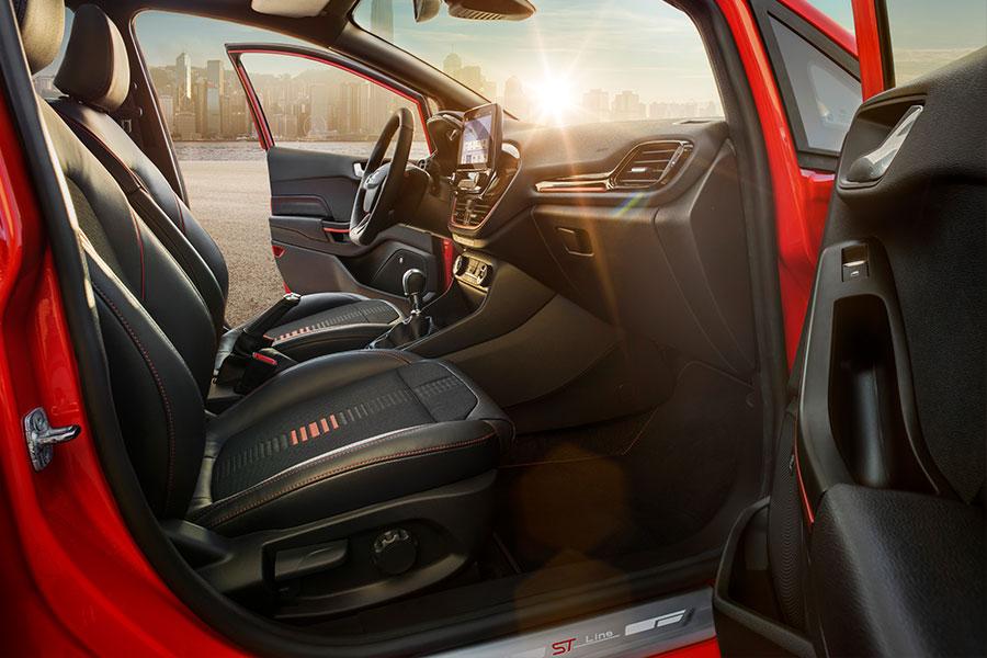 Fiesta ST-Line Red&Black Edition Interiér
