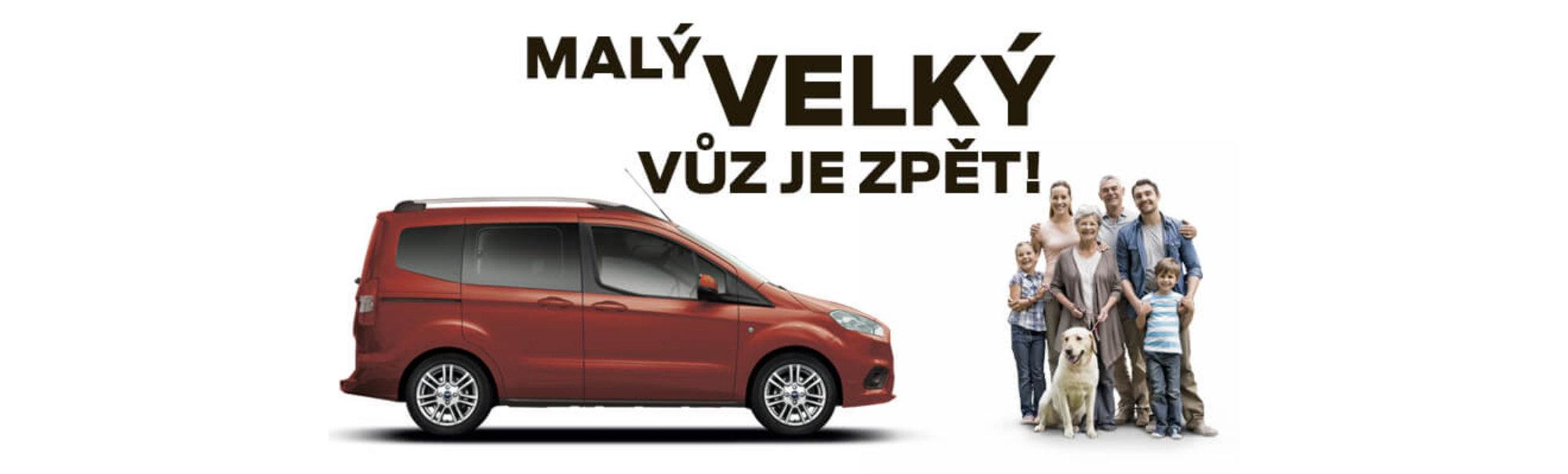 Ford Tourneo Courier u AMB Praha