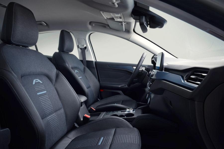 Zcela nový Ford Focus - interiér