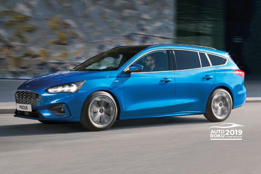Zcela nový Ford Focus - exteriér