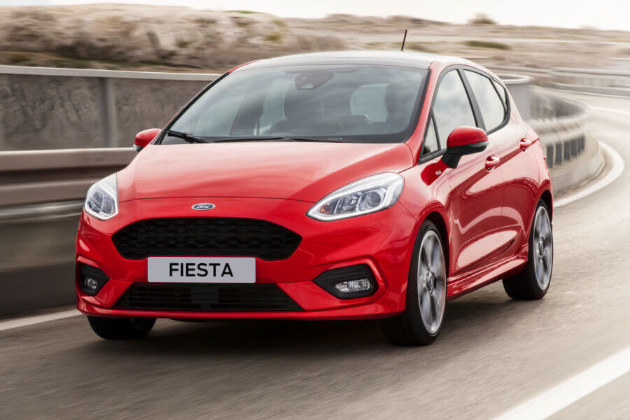 Ford Fiesta - exteriér
