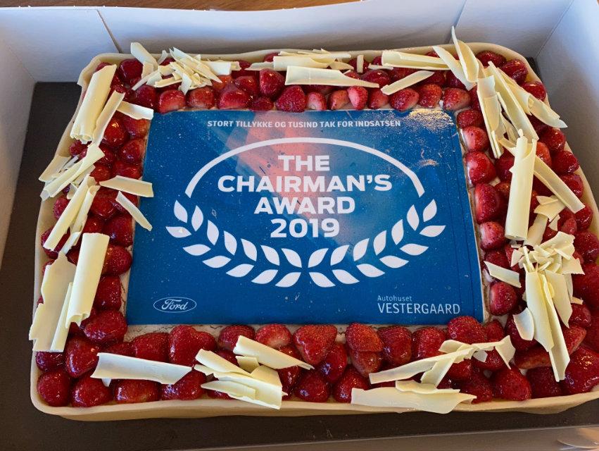 Chairman's Award 2019