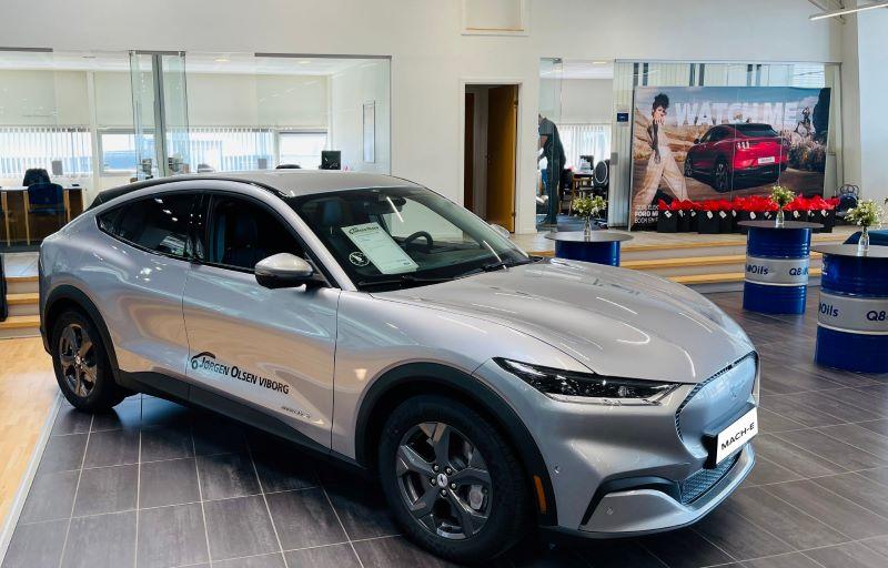 Prøvekør Mustang Mach-E