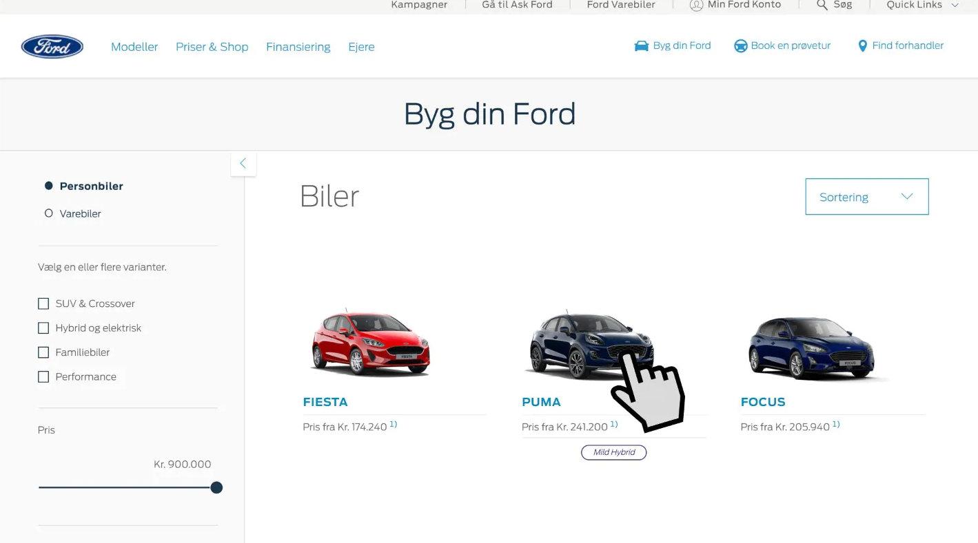 Byg din Ford