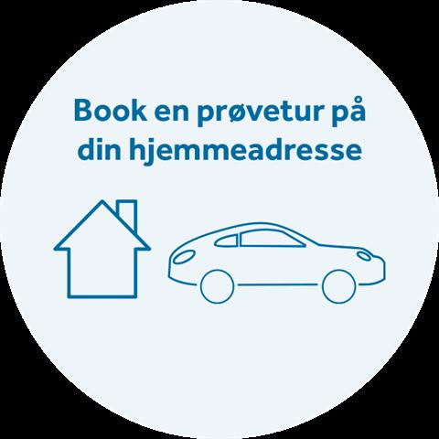 prøve en bil på din hjemmeadresse