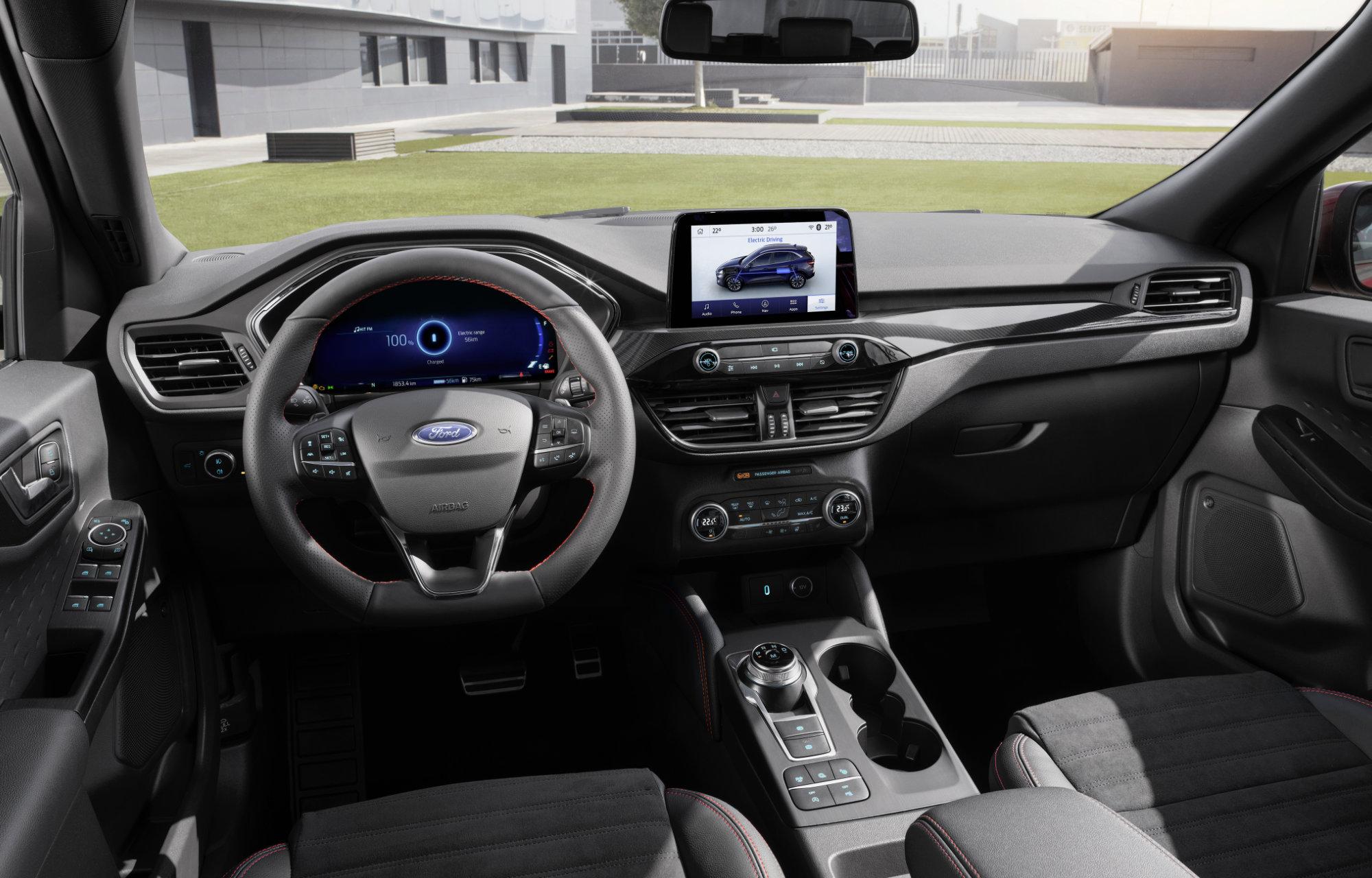 Uusi Ford Kuga ladattava Hybridi
