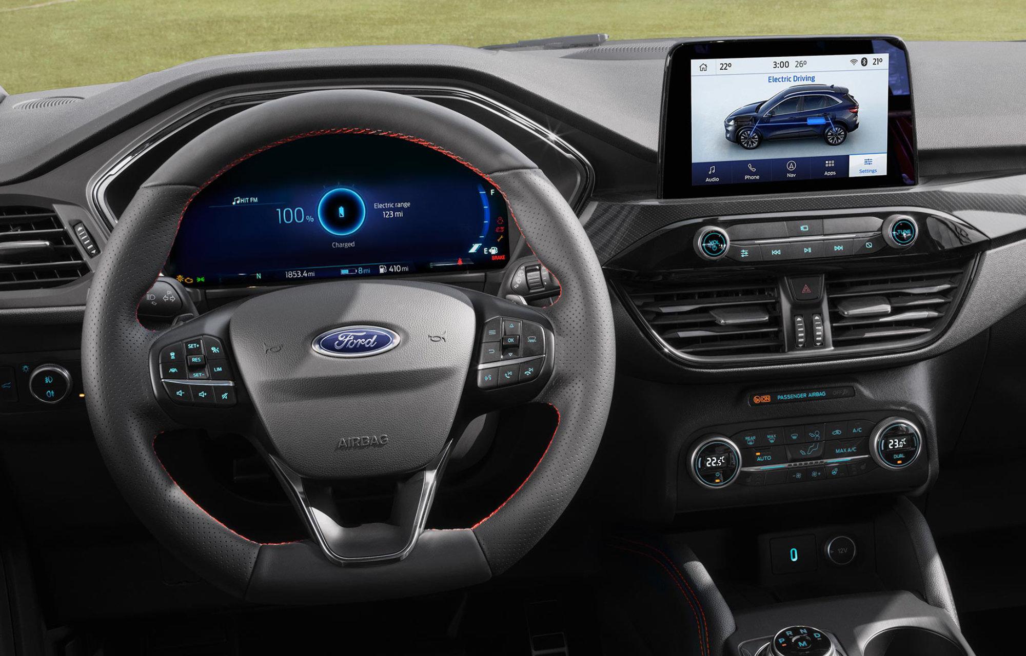 L'habitacle du nouveau Ford Kuga