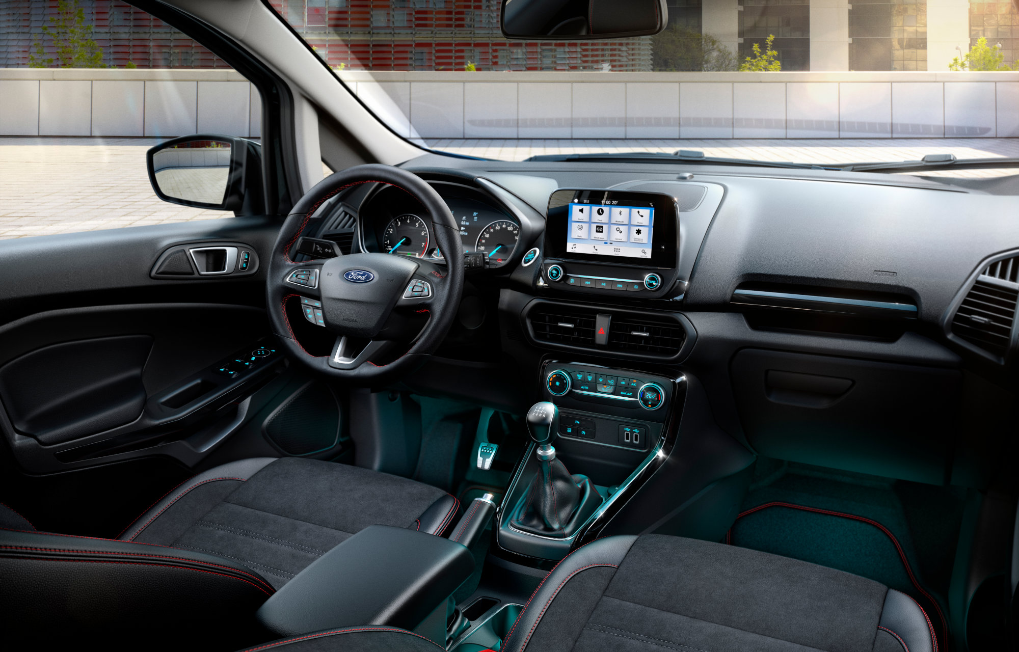 Ford EcoSport intérieur