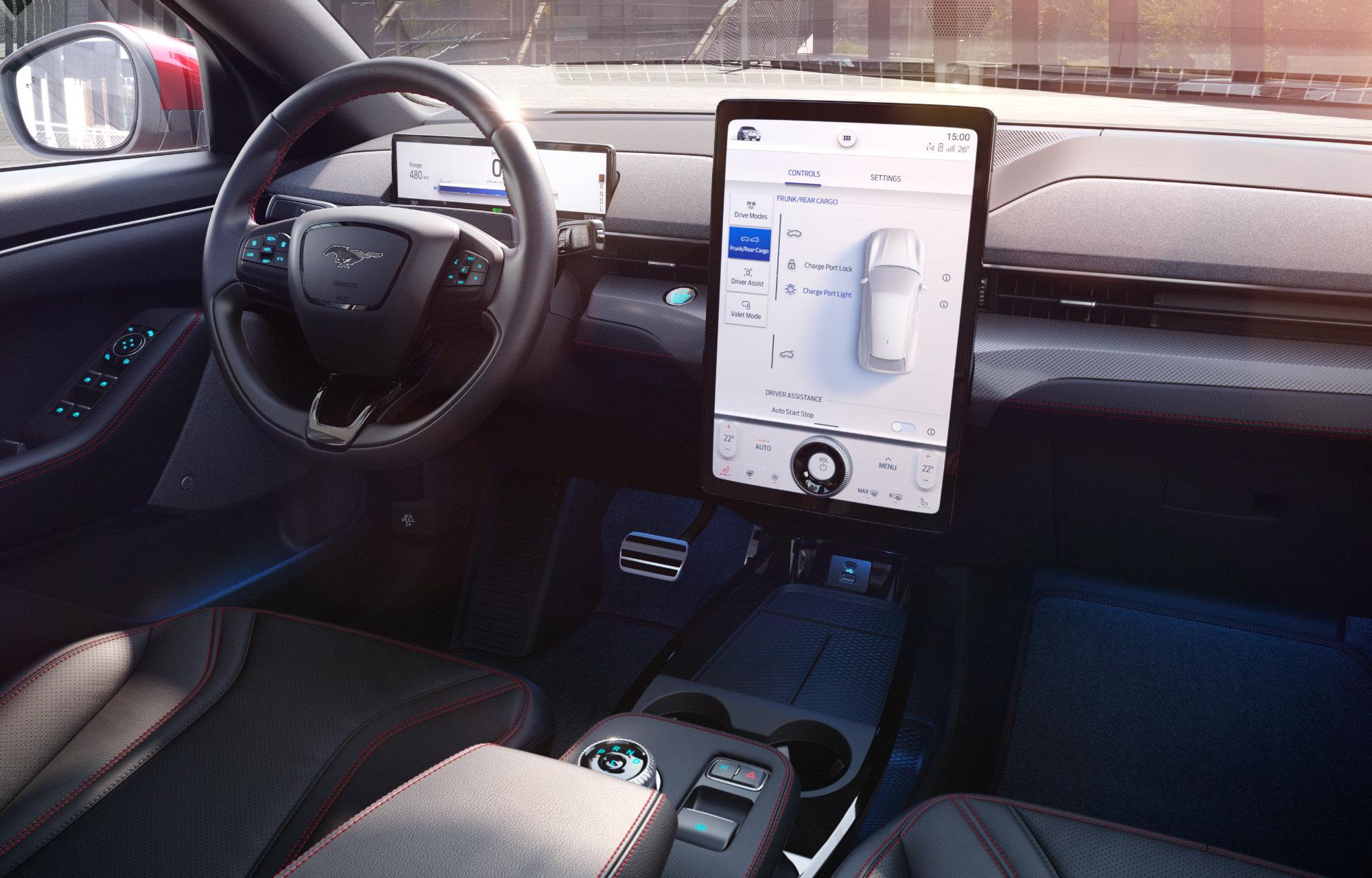 La Ford Mustang Mach-E embarque les dernières technologies