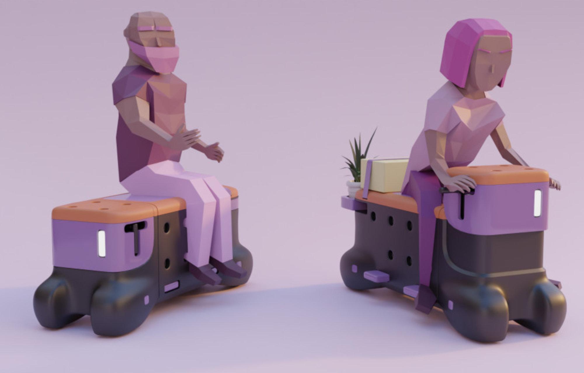Robogó-pad