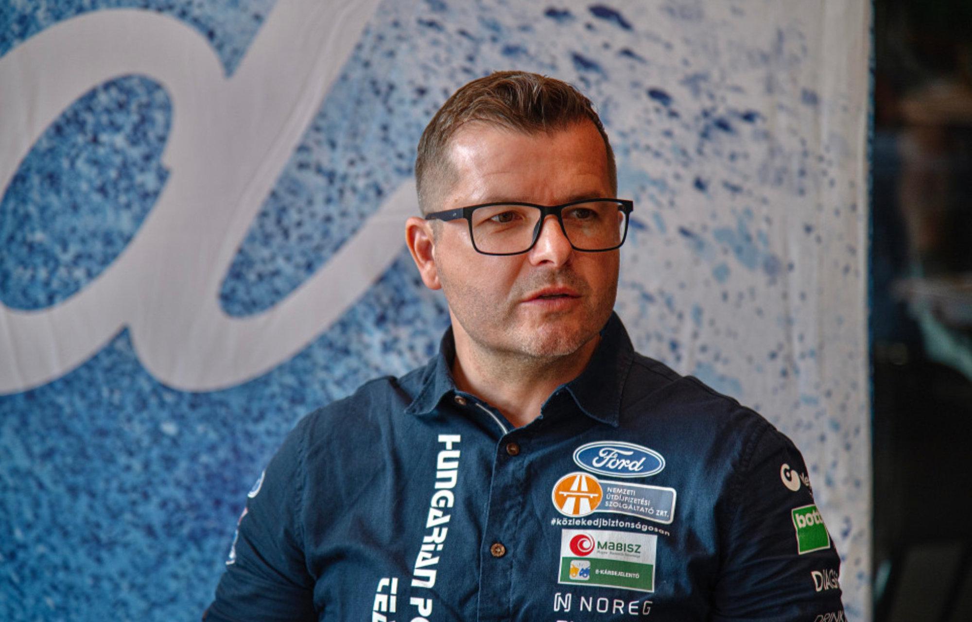 Hoffer Zsolt, a Hungarian Police Rally Team Pilóta