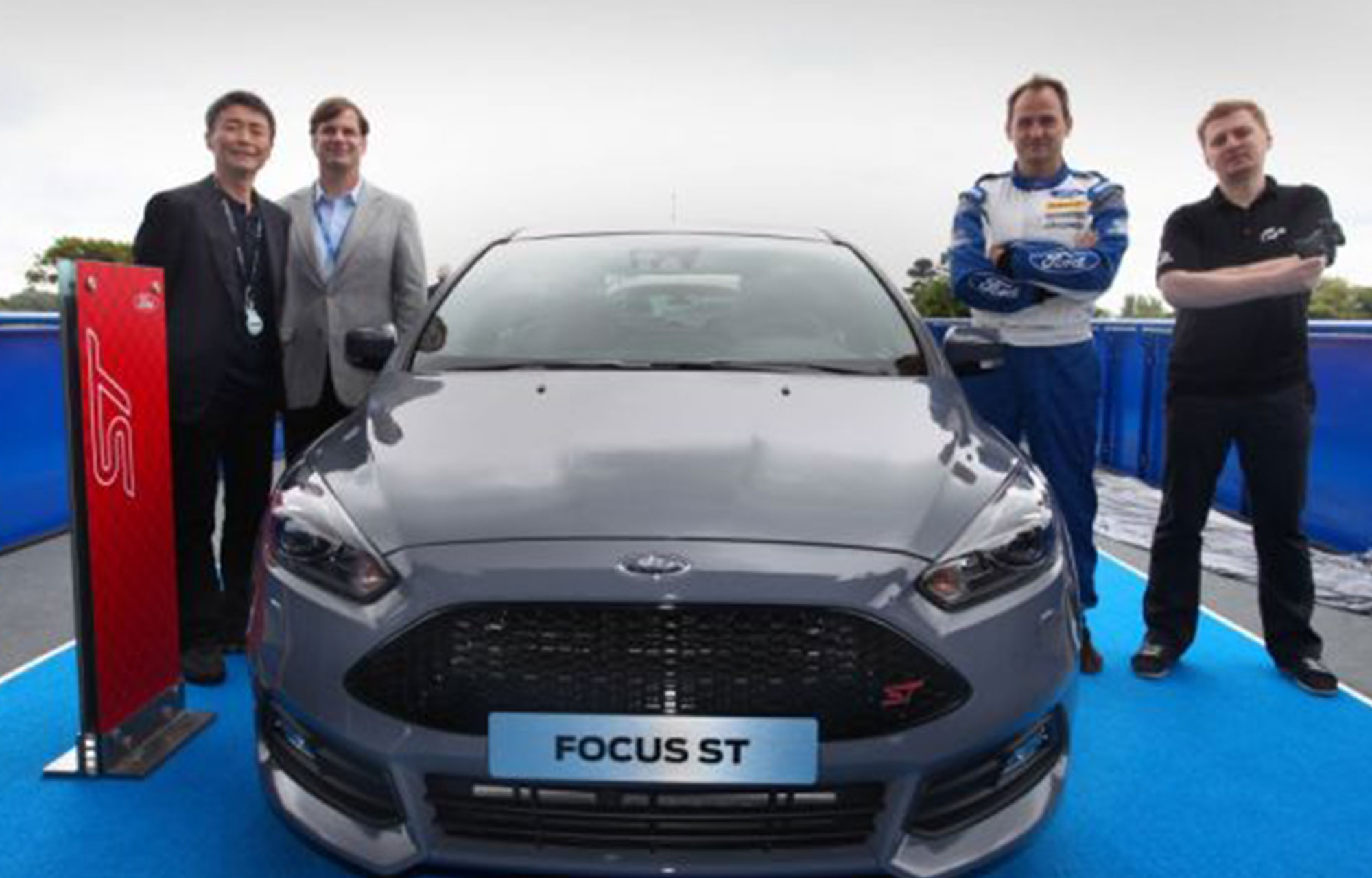 Focus ST revealed by Jim Farley and Grand Tursimo creator Kazunori Yamauchi