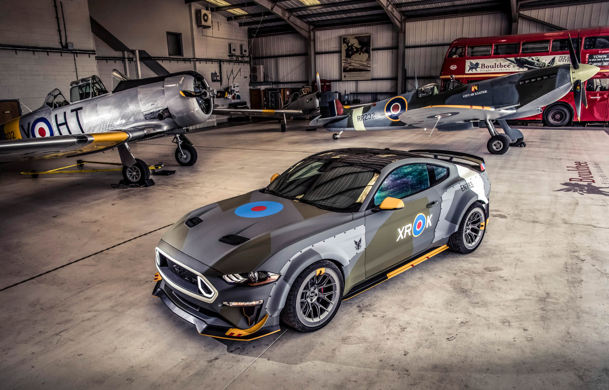 Eagle Squadron Mustang GT at Goodwood Festival of Speed 2018