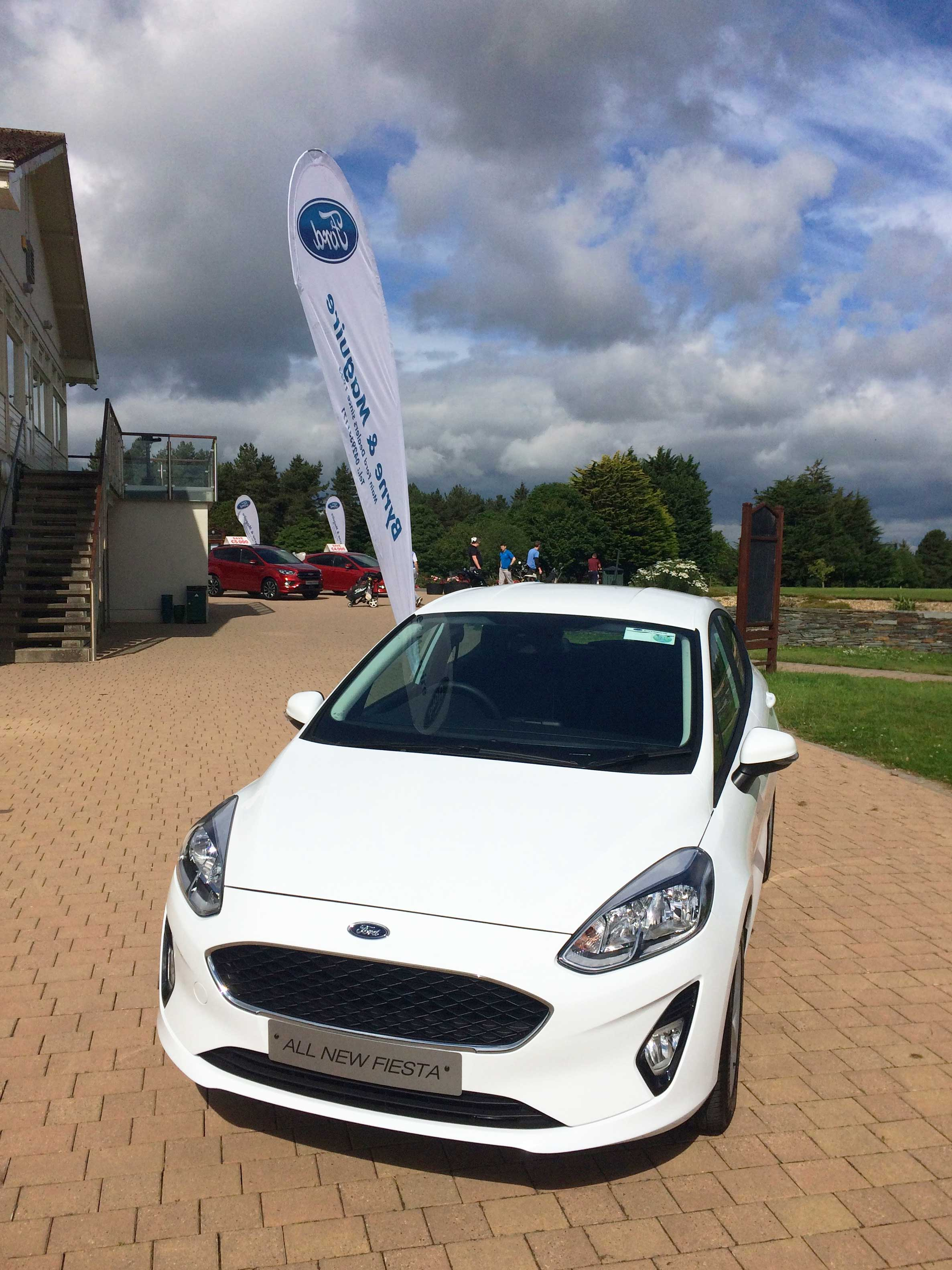 All-New Ford Fiesta on display