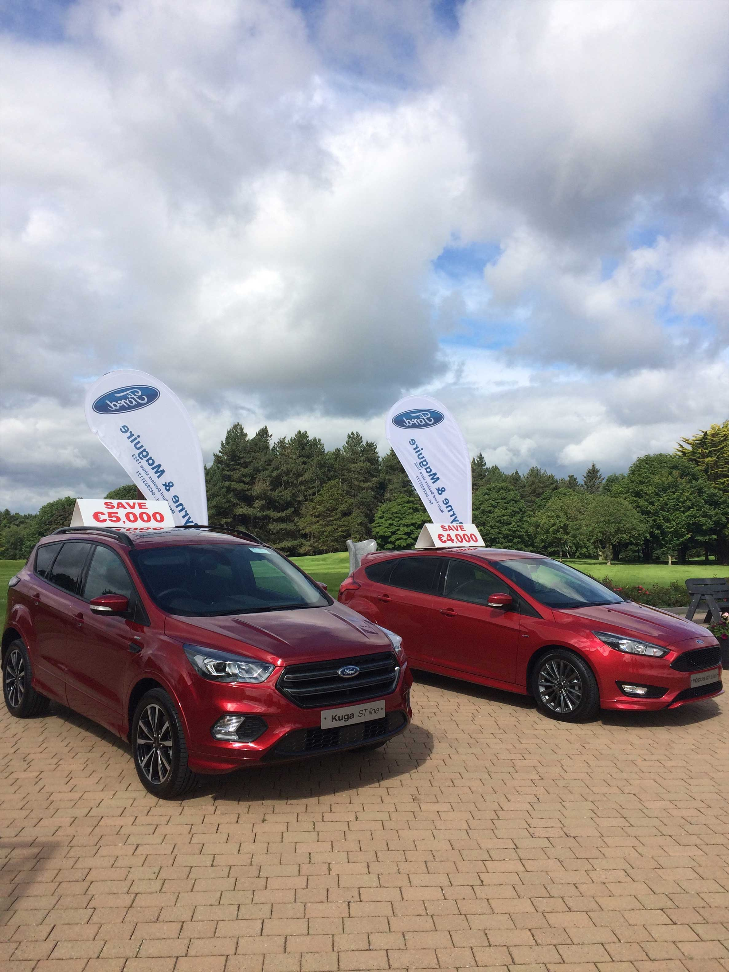 Ford Ranges on display