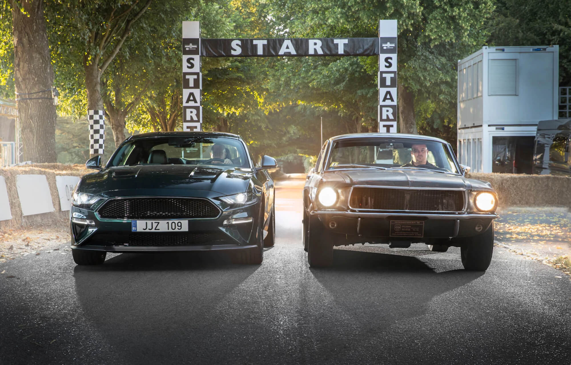 Silver screen icon comes to Goodwood