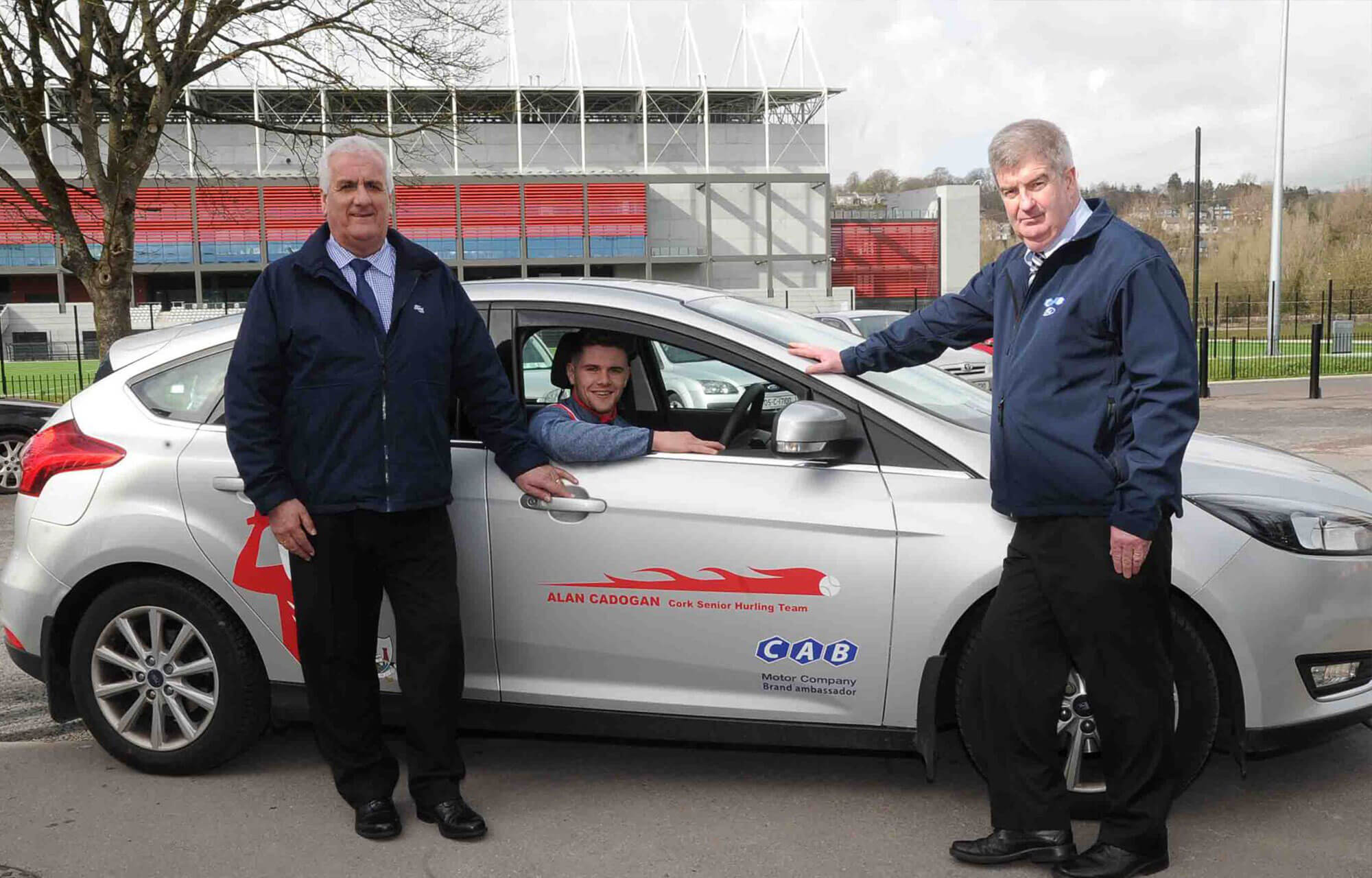 Cork GAA takes delivery of two Ford Transit Customs sponsored by CAB Motors