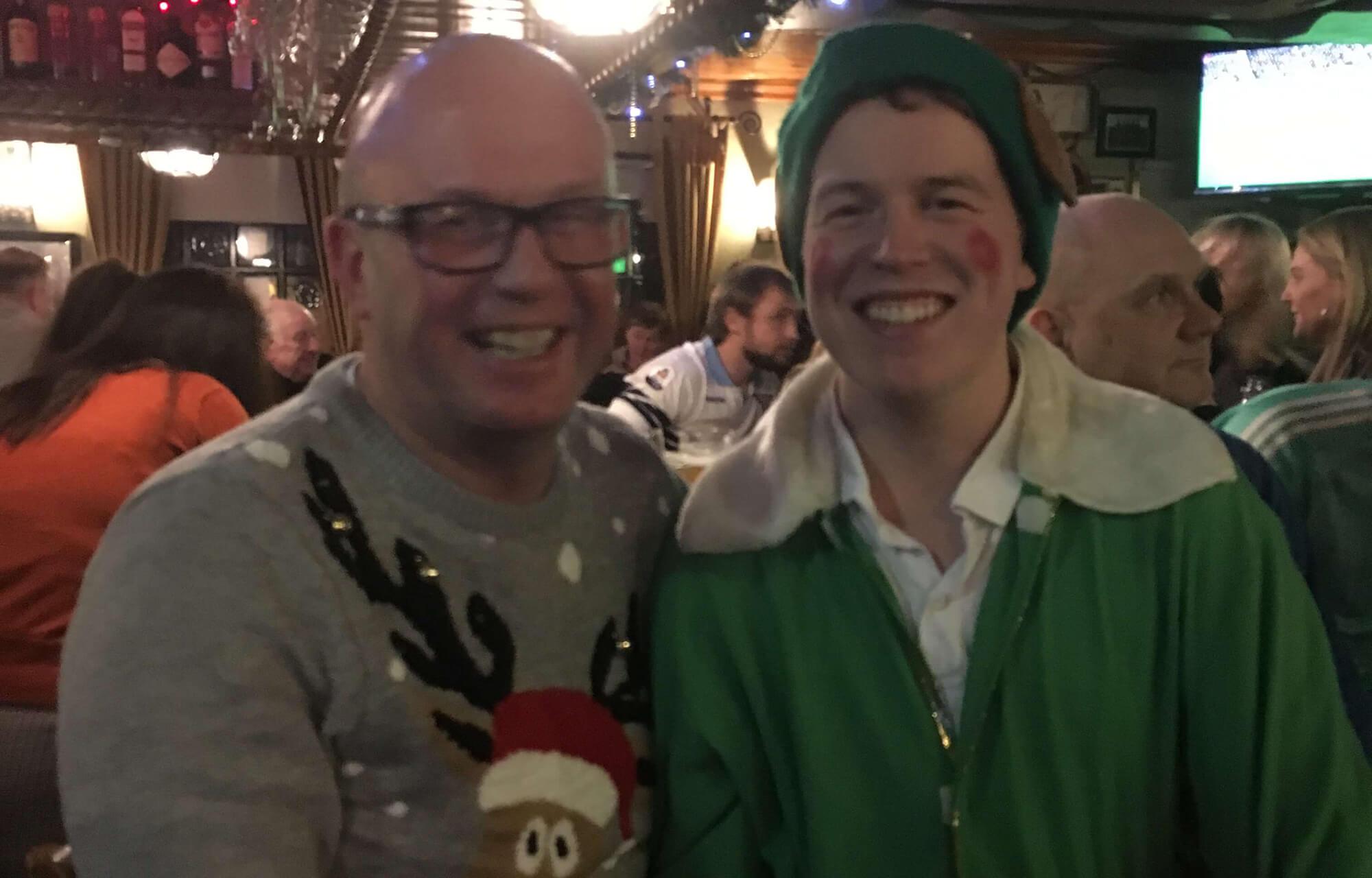 Byrne and Maguire to deliver Santa in Blackrock