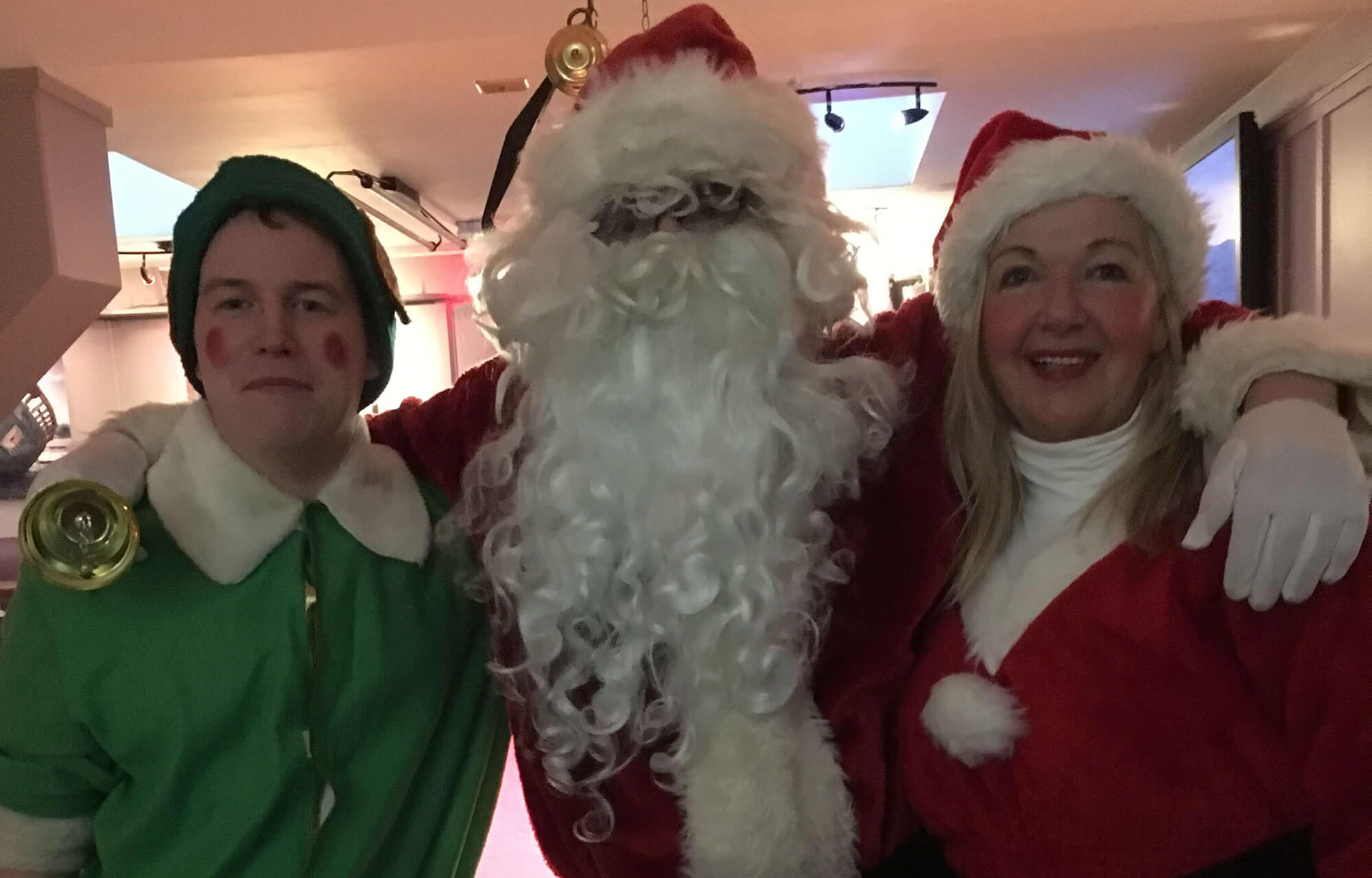 Byrne and Maguire to deliver Santa in Blackrock