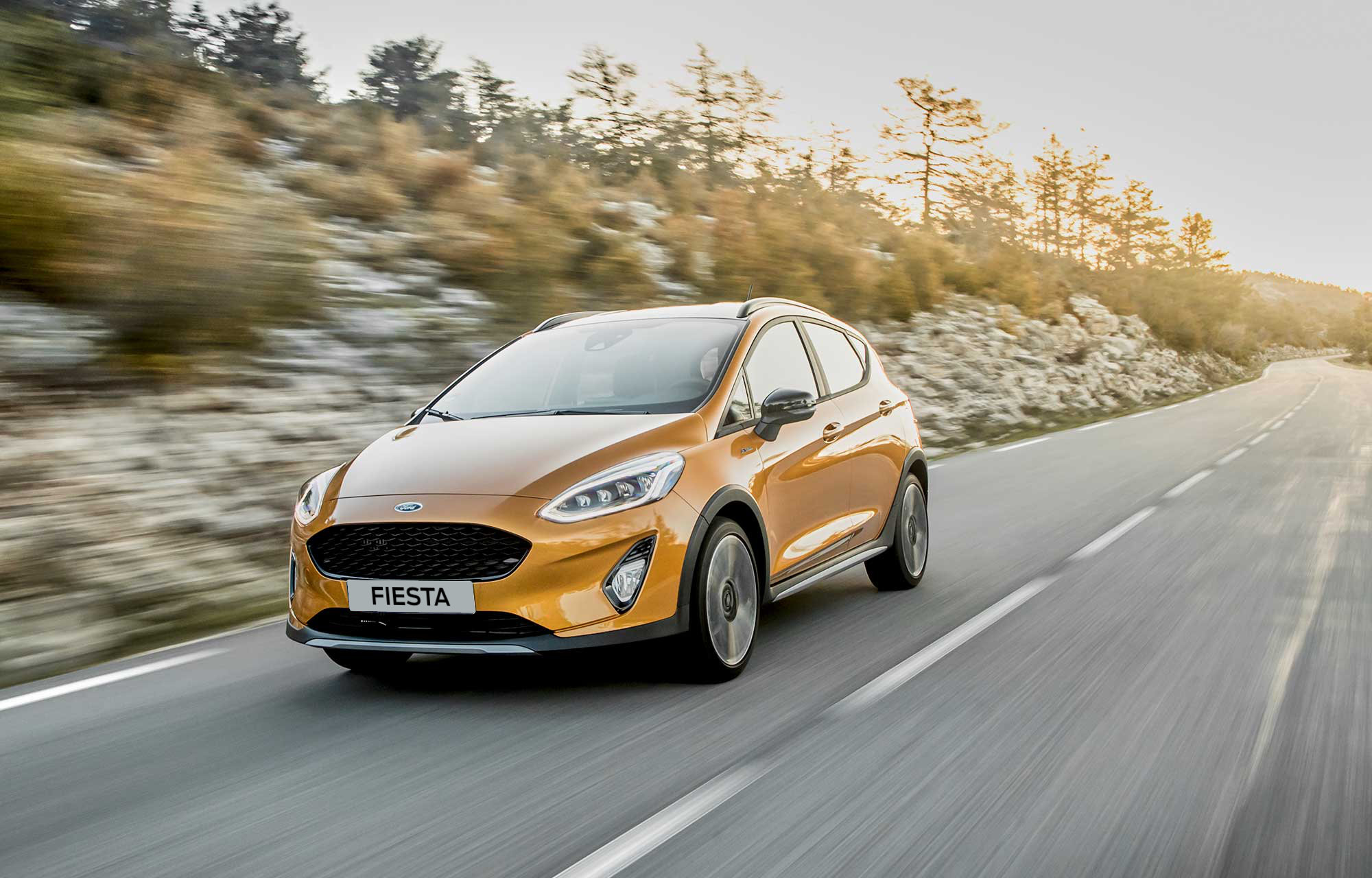 Ford Fiesta at Porter Ford, Sligo