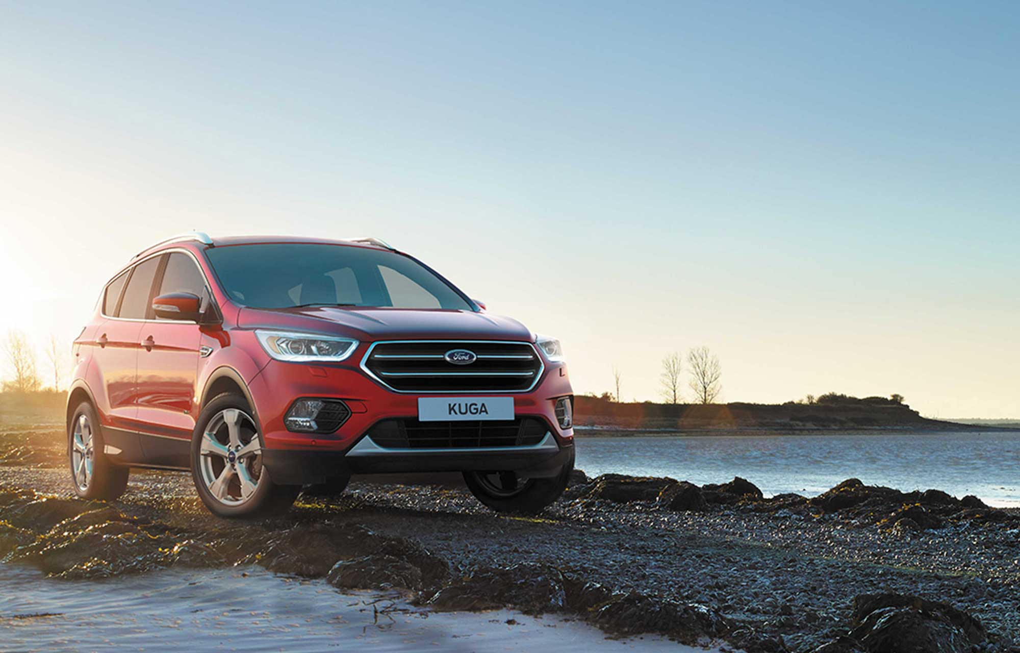 Ford Kuga at Porter Ford, Sligo