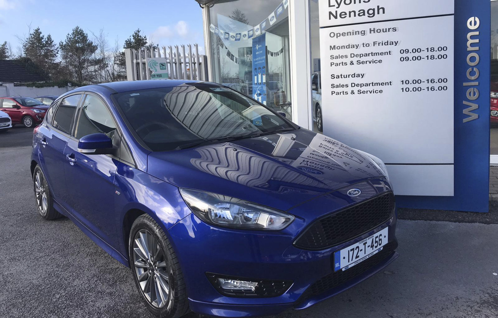2017 Ford Focus, Lyons of Nenagh