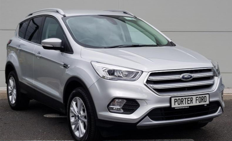 191 Kuga Titanium SUV | 1.5L | Auto boot | Half leather at Porter Ford, Sligo