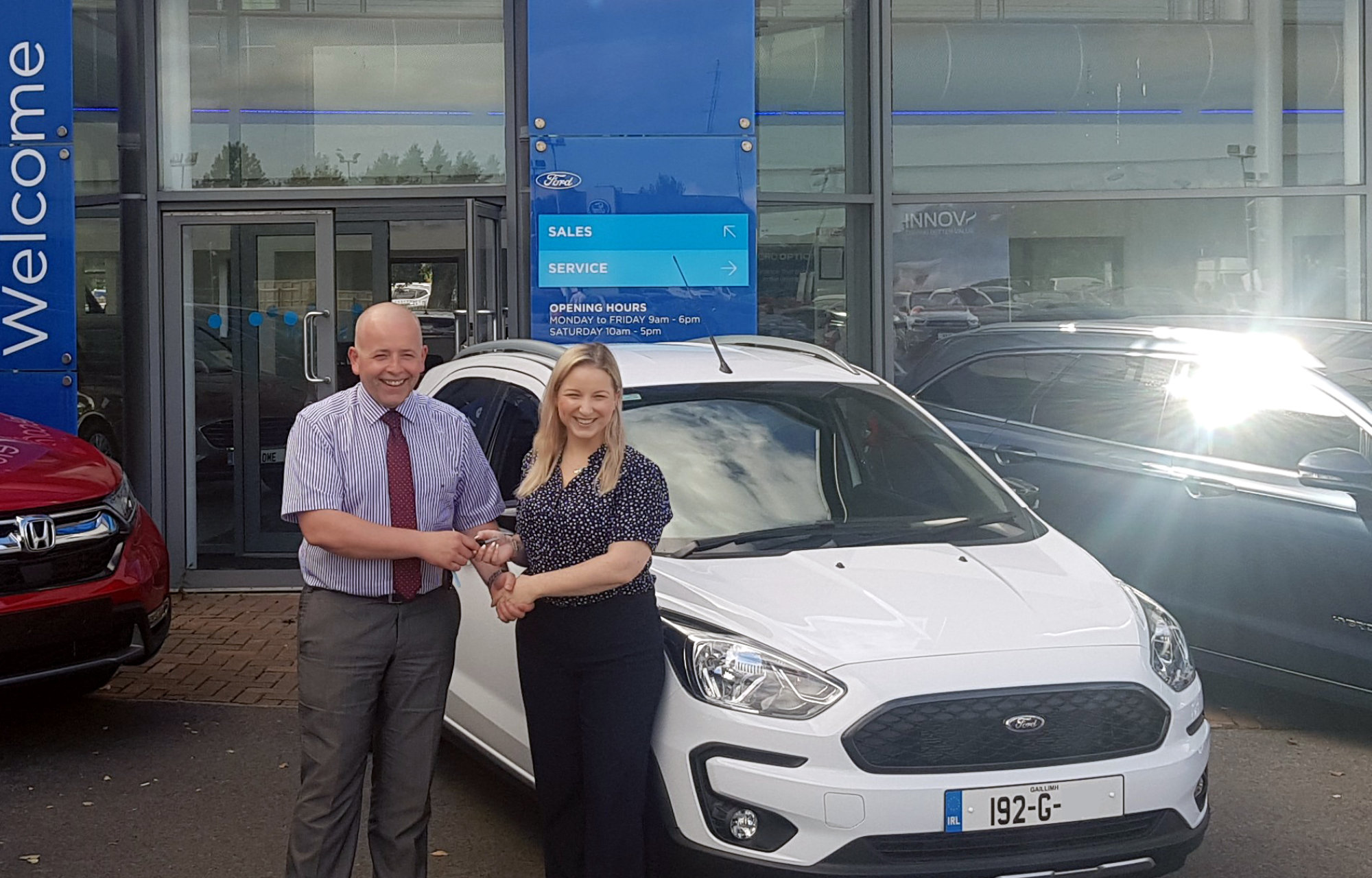 192 Ford Collections at Sheils Motor Group in Ennis, Limerick and Galway