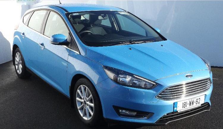 2018 Ford Focus TITANIUM 1.5TD 95PS 6SPD