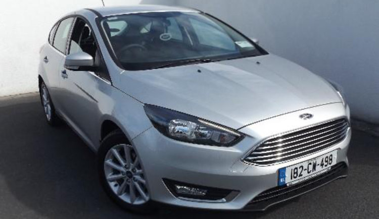 2018 Ford Focus TITANIUM 1.0 125PS 6SPD