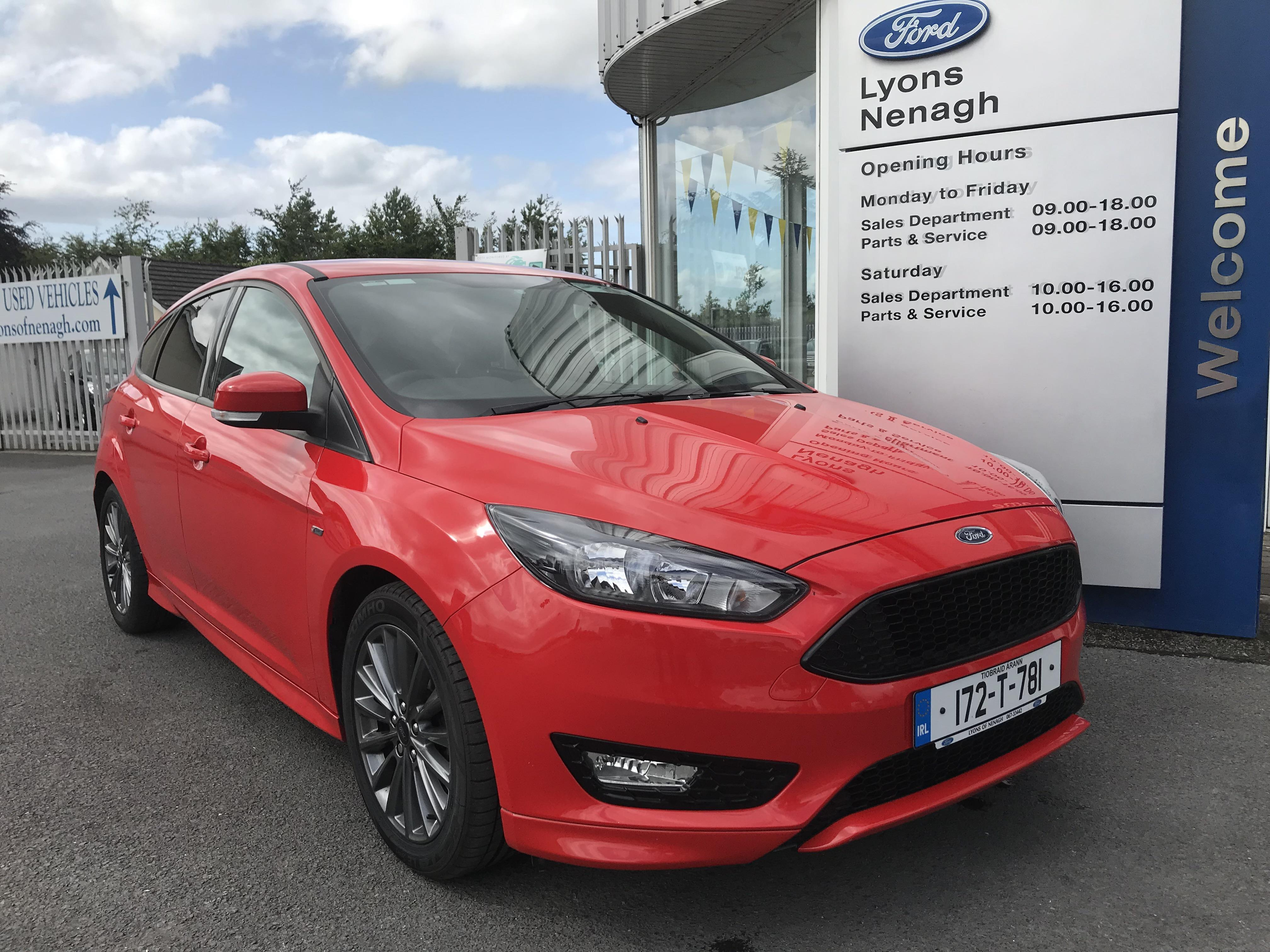 2017 Ford Focus ST-Line, Lyons of Nenagh
