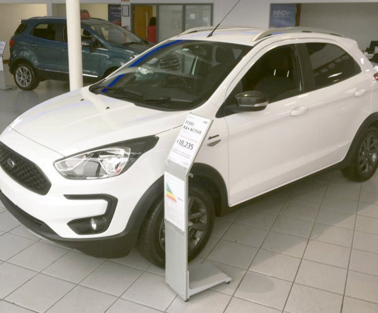 Ford Ka+ Active 1.2 85PS at Sheils Motorpark Galway