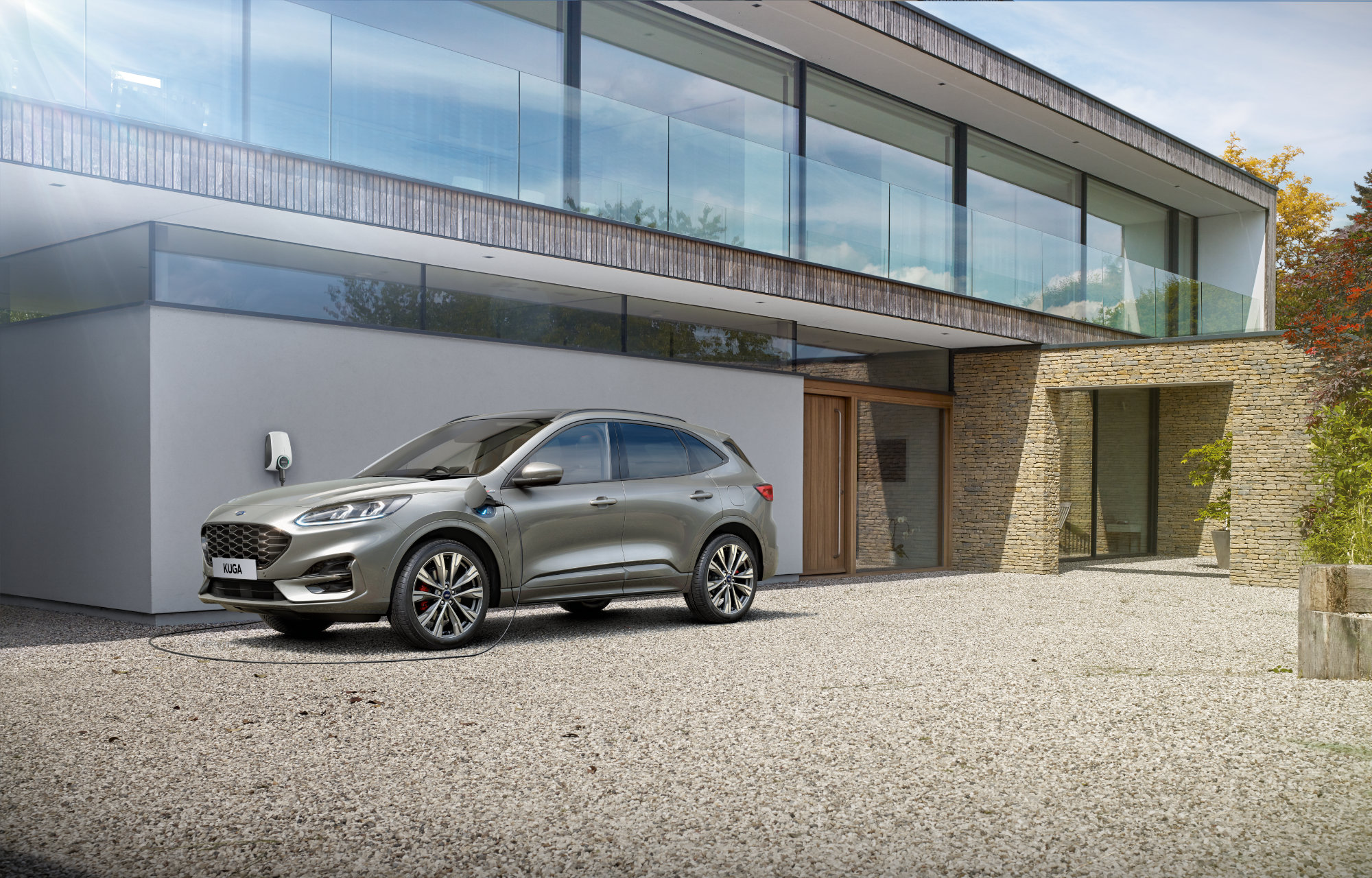 All-New Ford Kuga - Charge at Home