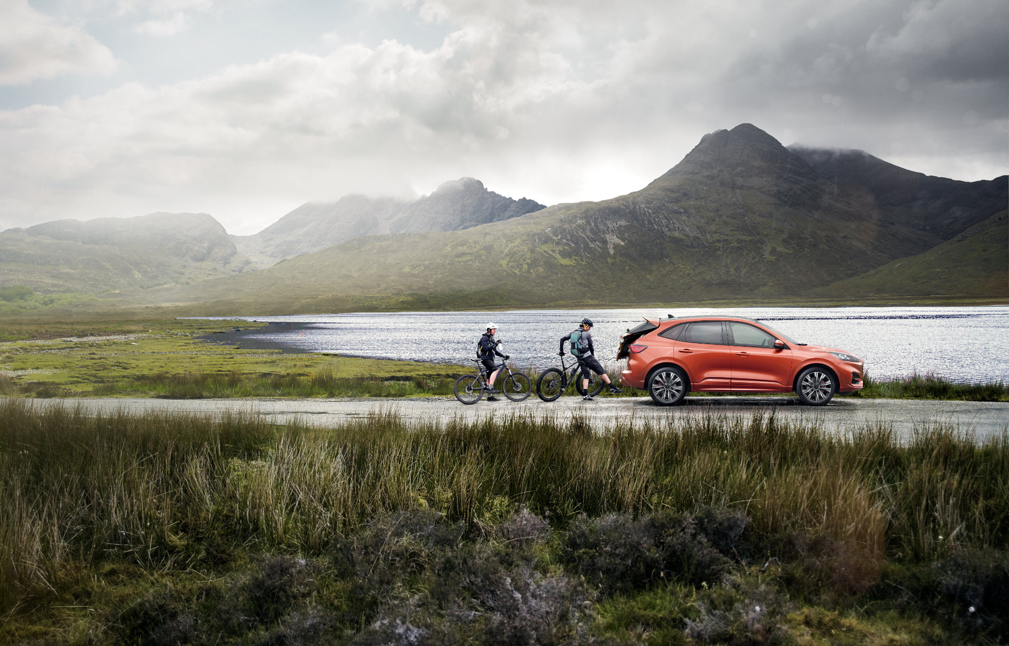 All-New Ford Kuga - Outdoor Activities