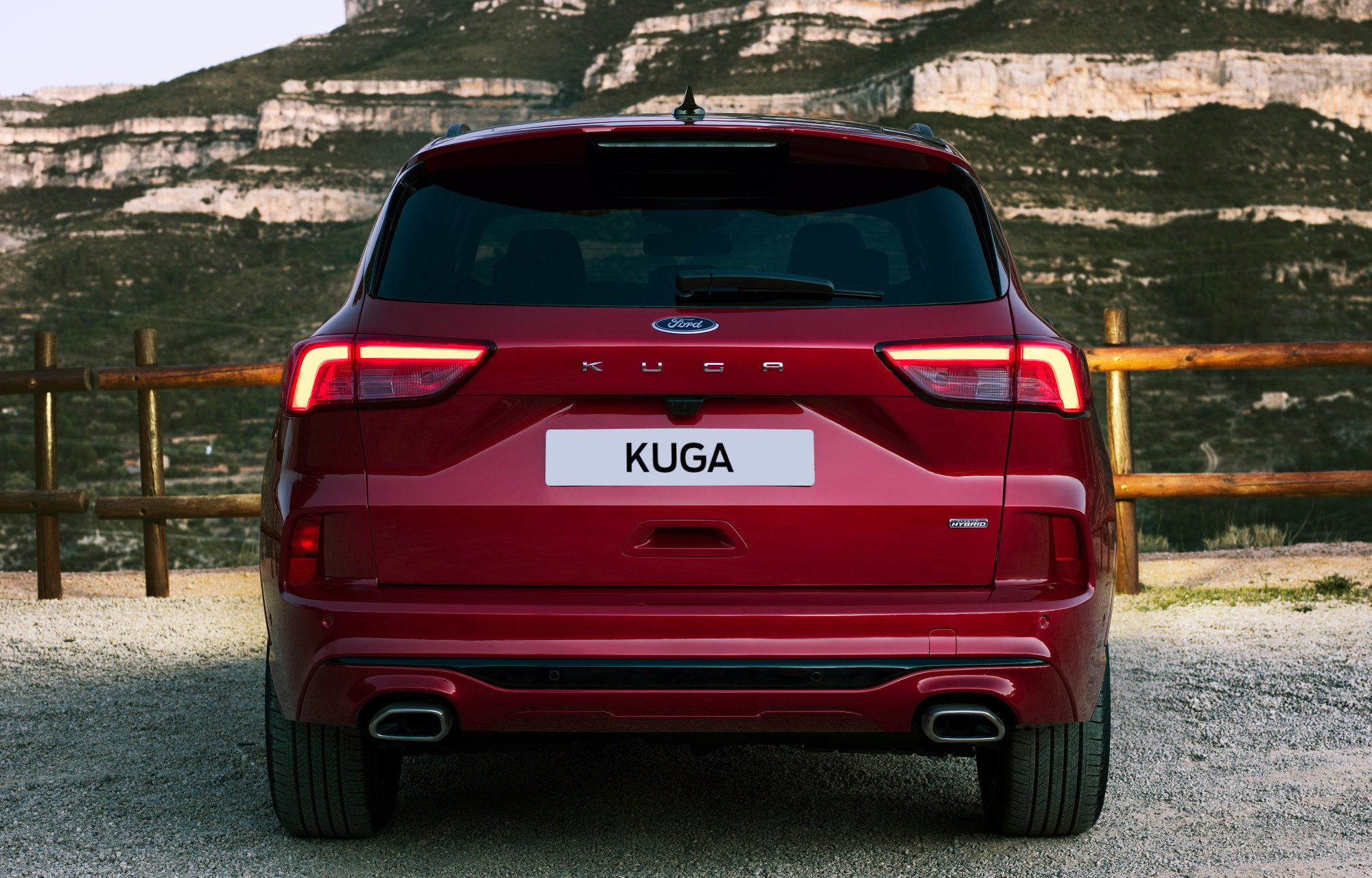 All-New Ford Kuga - Rear