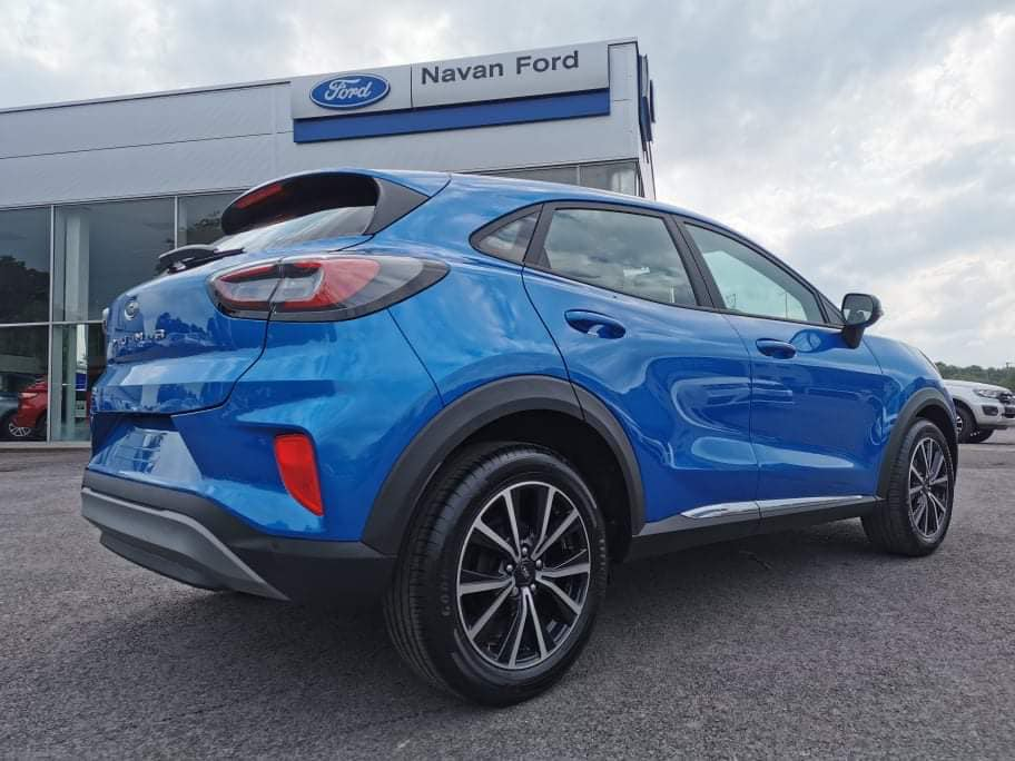 Ford Puma Rear Right at Navan Ford