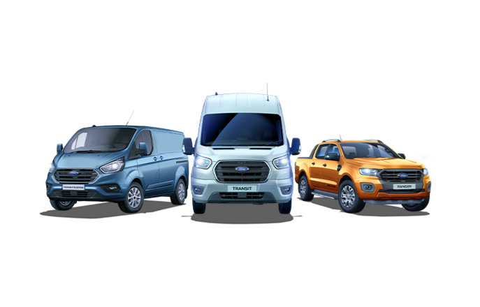 Ford Commercial vehicle range