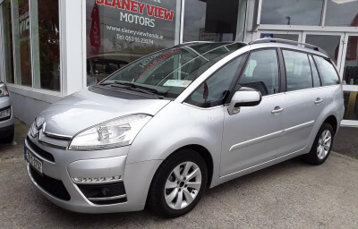 Front-left view - silver 2013 (131) Citroen C4 Picasso 1.6 HDI Diesel - Save €1000 only at Slaney View Motors