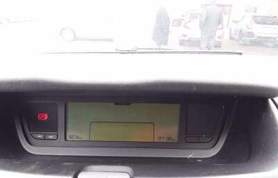 Interior panel screen view - silver 2013 (131) Citroen C4 Picasso 1.6 HDI Diesel - Save €1000 only at Slaney View Motors