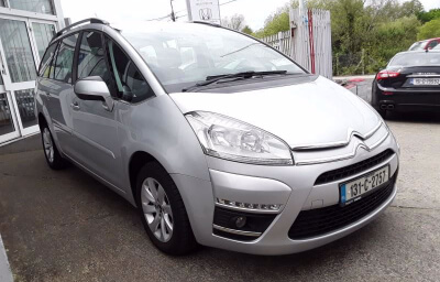 Front-right view - silver 2013 (131) Citroen C4 Picasso 1.6 HDI Diesel - Save €1000 only at Slaney View Motors
