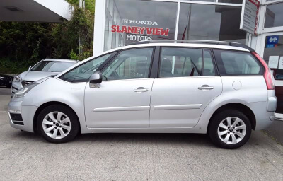 side view - silver 2013 (131) Citroen C4 Picasso 1.6 HDI Diesel - Save €1000 only at Slaney View Motors